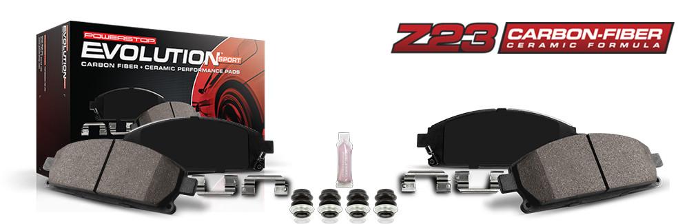 Węglowo-ceramiczne klocki hamulcowe Power Stop serii Z23